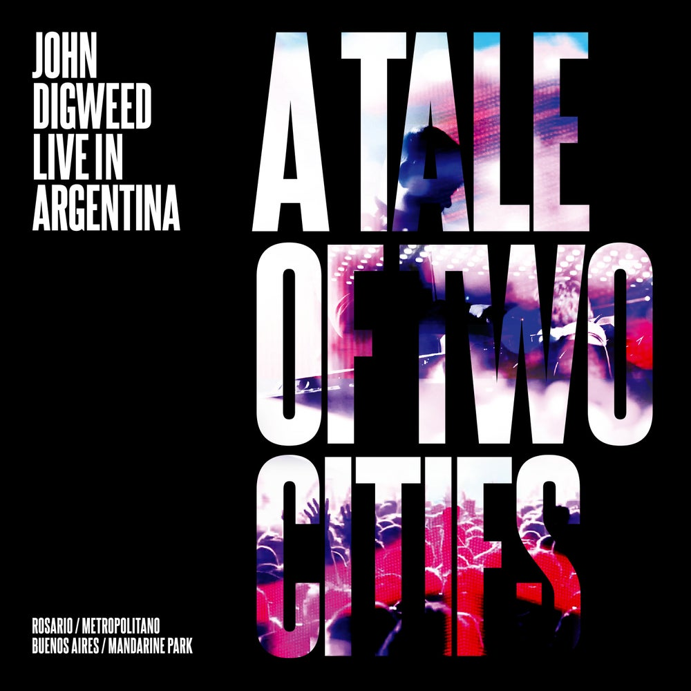 Image of John Digweed ' A Tale Of Two Cities ' DVD from Live in Argentina Exclusive to the Bedrock store