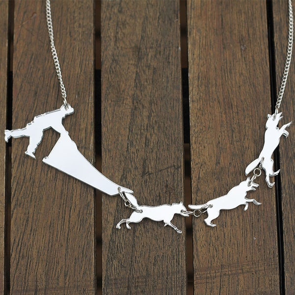 Image of Dog Sled Necklace