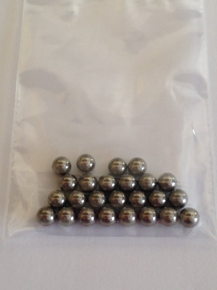 Image of Stainless Steel Mixing Balls <p> 4.5 mm
