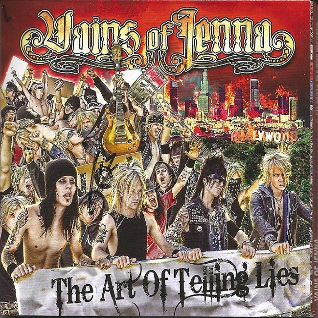 "Image of Vains of Jenna ""The Art Of Telling Lies"" (2009)"