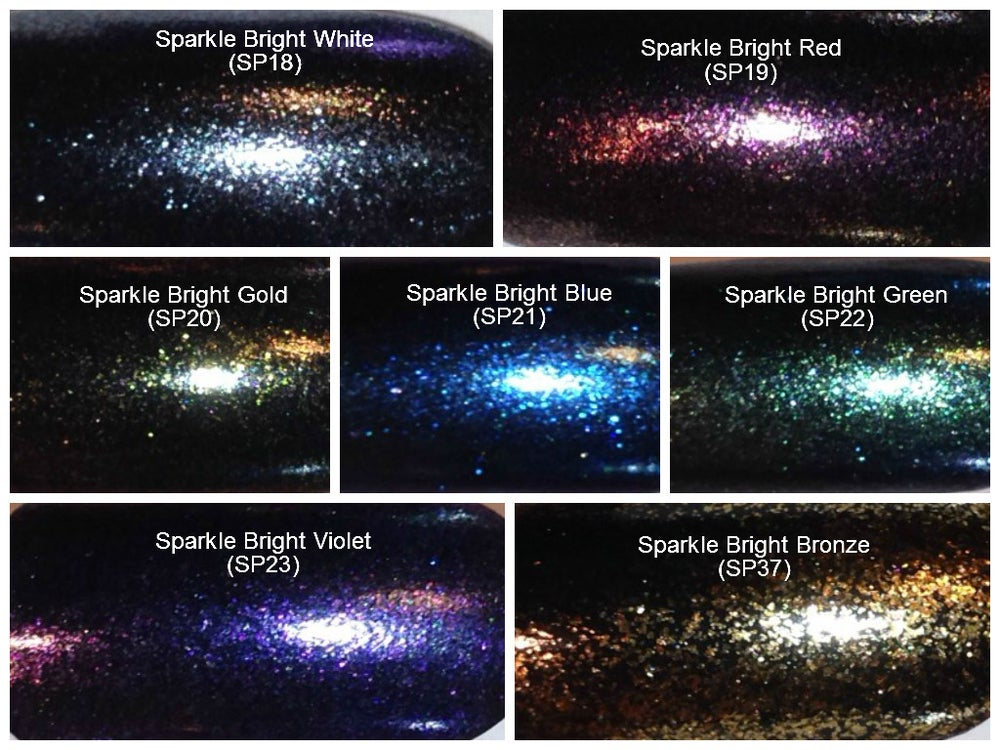 "Image of Sparks ""Sparkle Bright"" Pigments </p> 7 Colors Available"