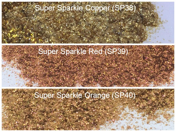 Image of Sparks - Super Sparkle and Intense Sparkle Pigment </p> 4 Colors Available