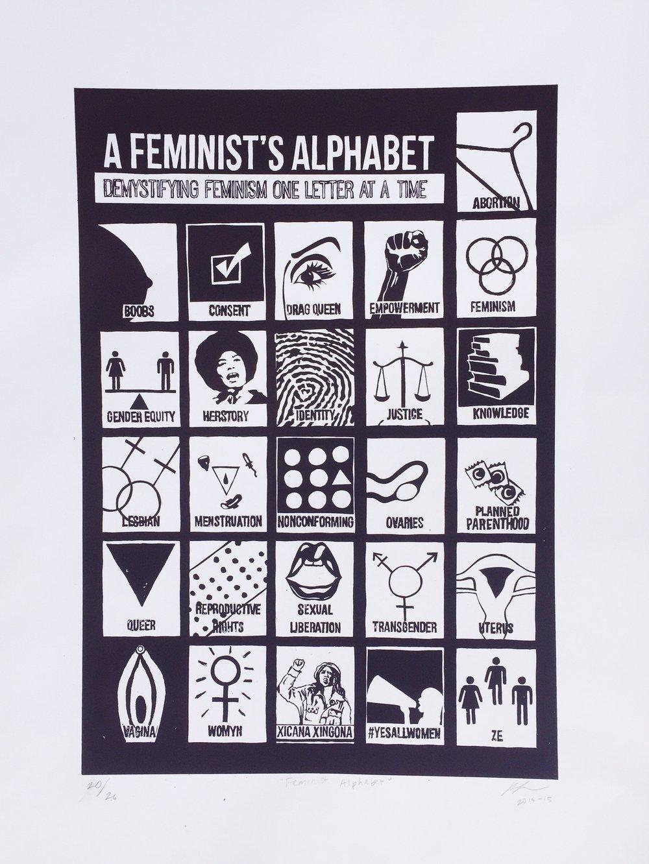 Image of Feminist Alphabet