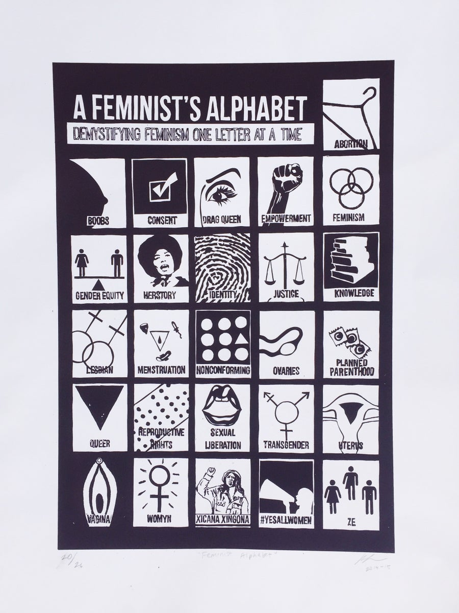 Image of Feminist Alphabet