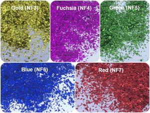 Image of Opal/Metallic Glitter Flakes Sampler