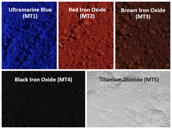 Image of Matte Pigment Sampler