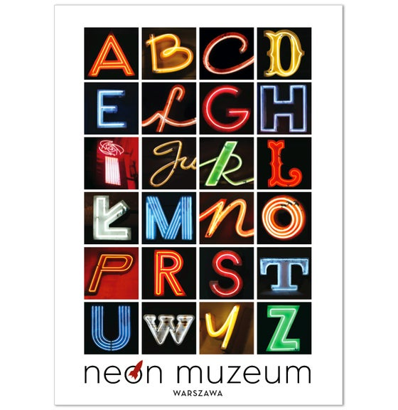Image of Alphabet Poster - Plakat
