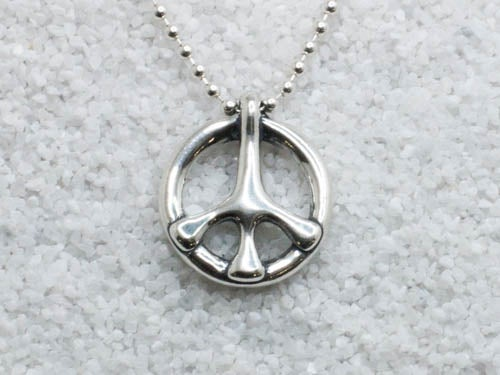 "Image of ""9/12"" Pendant - Sterling Silver"
