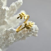 Image of Laurie - Gold Branch Wrap Ring