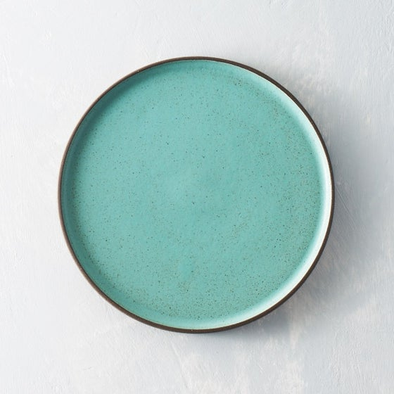 Image of Seafoam Dark Chocolate clay plate