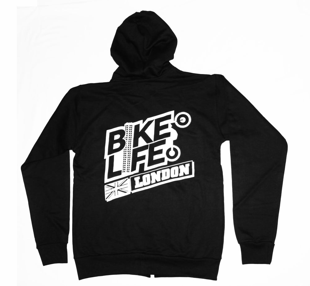 Image of BikeLifeTV -London Zip Hoody