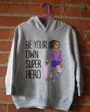 Image 2 of Superhero Girl Youth T-Shirt or Hoodie