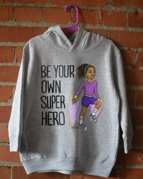 Image of Superhero Girl Youth T-Shirt or Hoodie