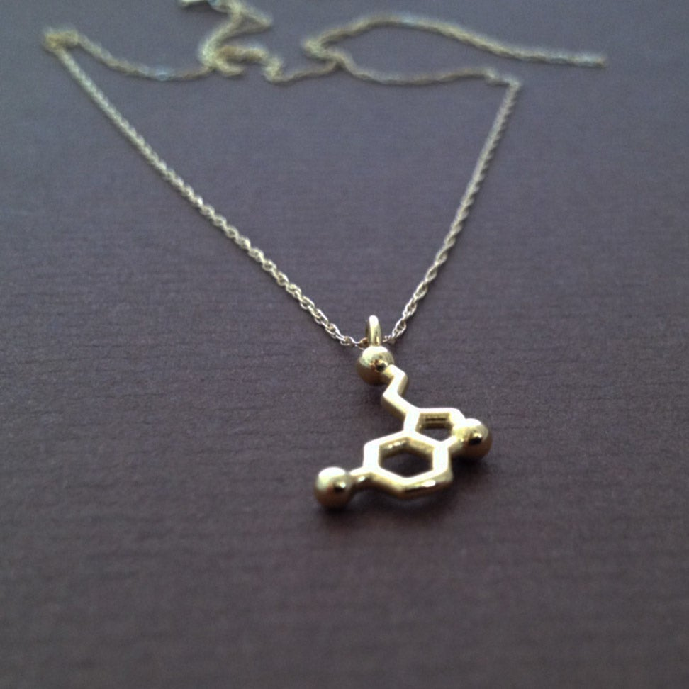 Image of tiny serotonin necklace