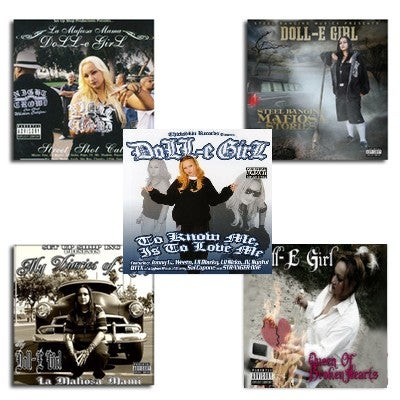 Image of Doll-E Girl Album Set