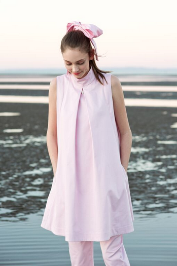 Image of LILY PLEAT DRESS
