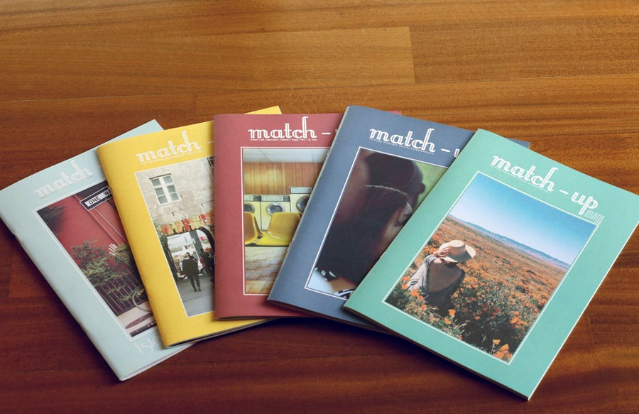 Image of match-up mag Issues Pack: 2-3-4-5