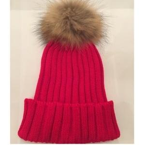Image of PomPom Knit Beanie