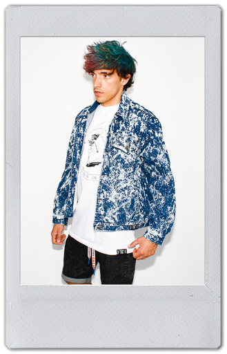 Image of BLEACHED DENIM JACKET 2