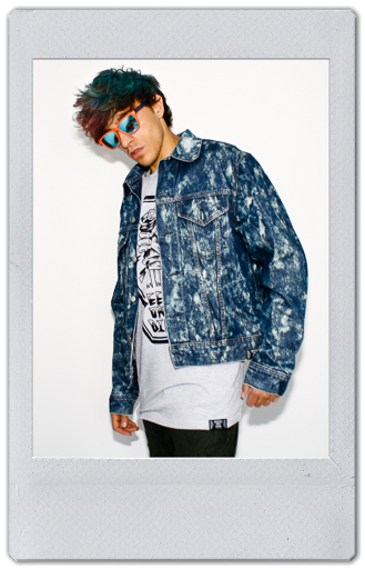 Image of BLEACHED DENIM JACKET 6