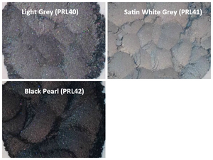 Image of Black/Brown/Gray Pearl Pigments <p> (5 gr.) </p> 7 Colors Available