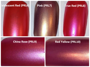 Image of Red/Pink Pearl Pigments <p> (5 gr.) </p> 13 Colors Available