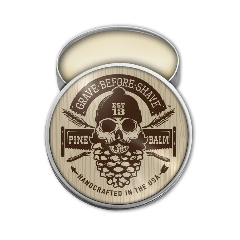 Image of GRAVE BEFORE SHAVE™ Pine Scent Beard Balm