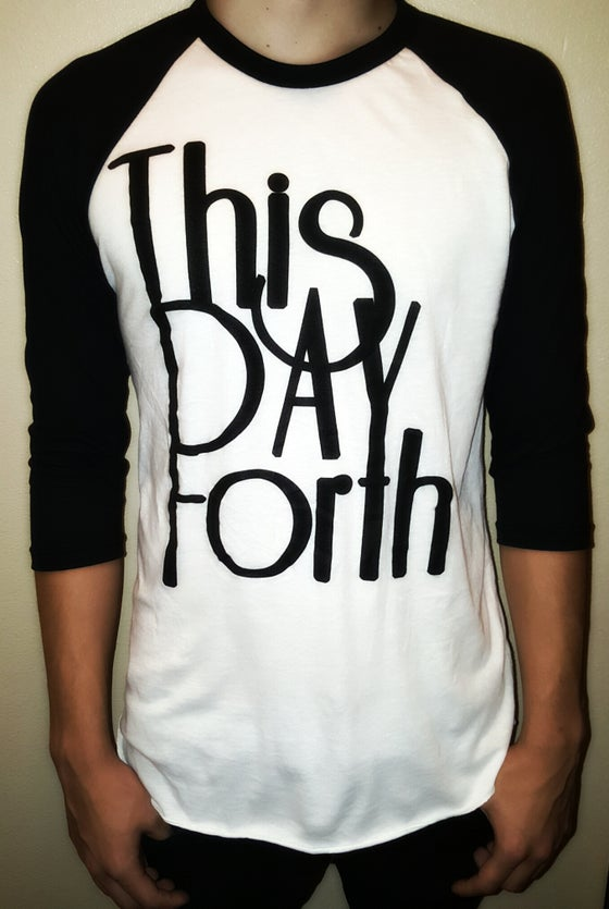 "Image of ""This Day Forth"" Baseball-Tee"