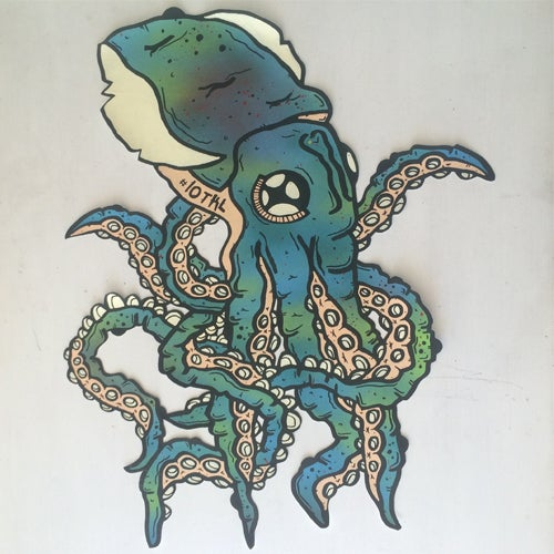 Image of LARGE SQUIDLET STICKER