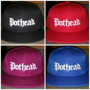 "Image of OG ""Straight Up Pothead"" Snapback"