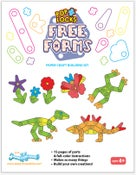 Image of Poplocks Free Forms Pre-Cut Paper Craft Building Kits