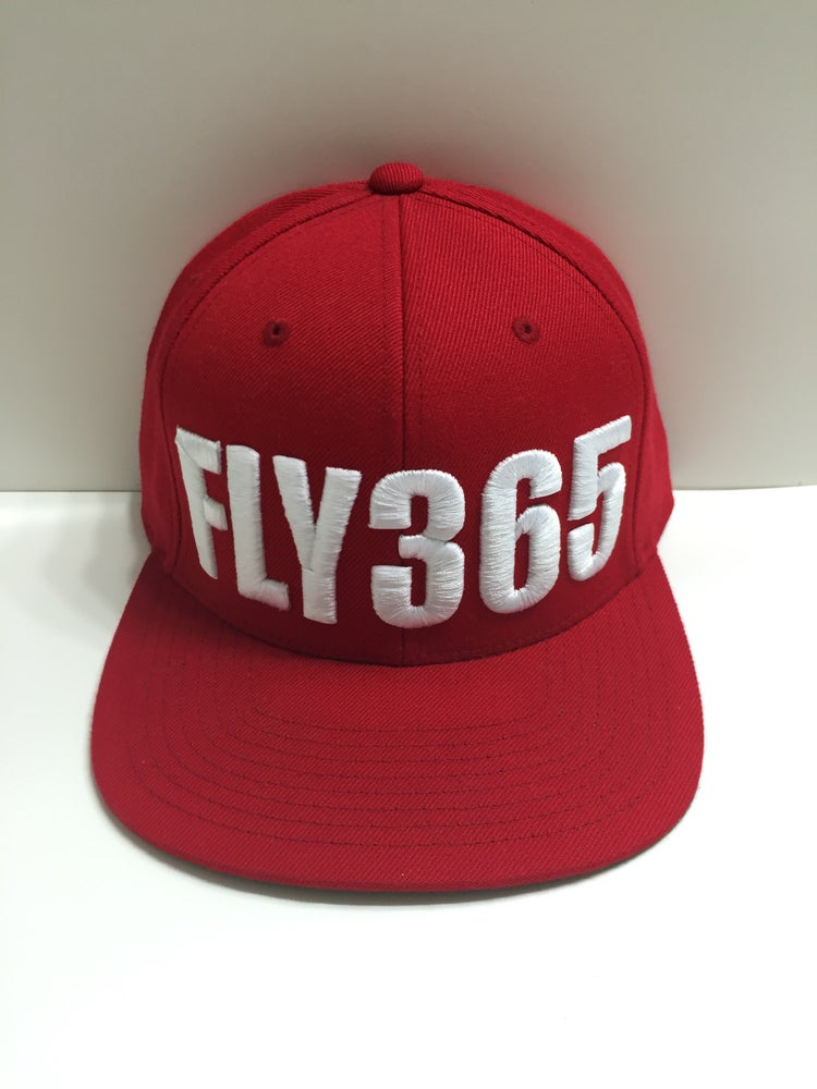 Image of FLY365 SNAPBACK RED
