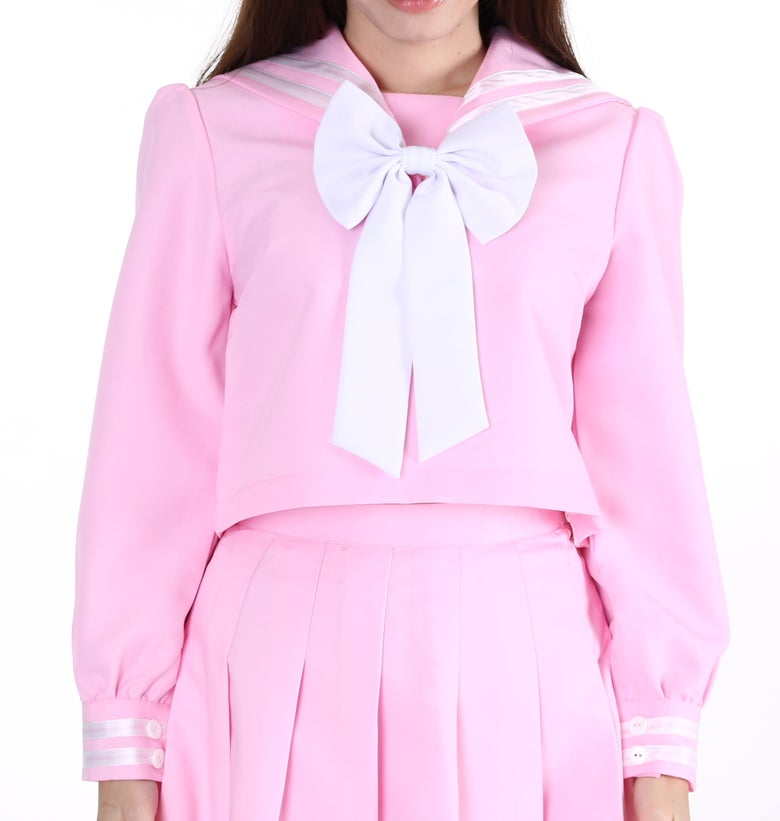 Image of PRE ORDER - Pink Winter Sailor Moon Inspired Top