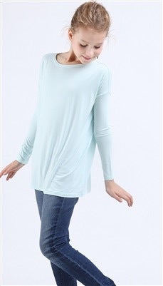 piko girl long sleeve tops more colors free state clothiers