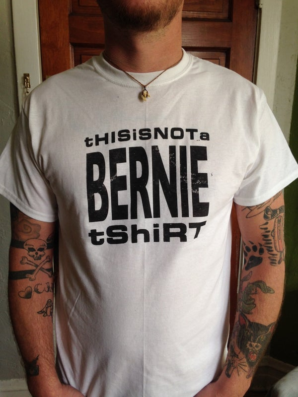 Image of This is not a BERNIE tshirt