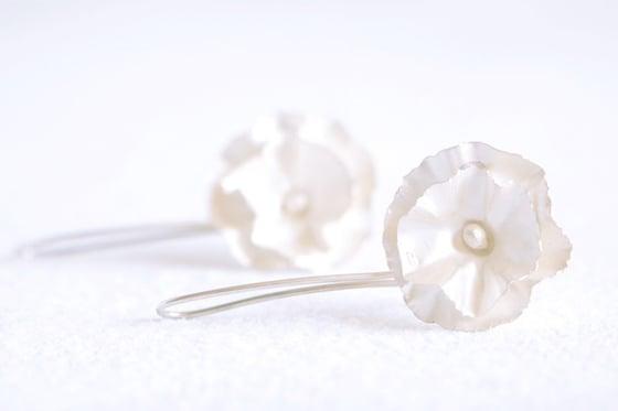 Image of Belle saison, Earrings in Fairmined silver