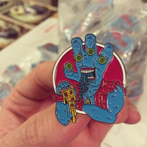 "Image of ""Ollie Pizza"" PIN"
