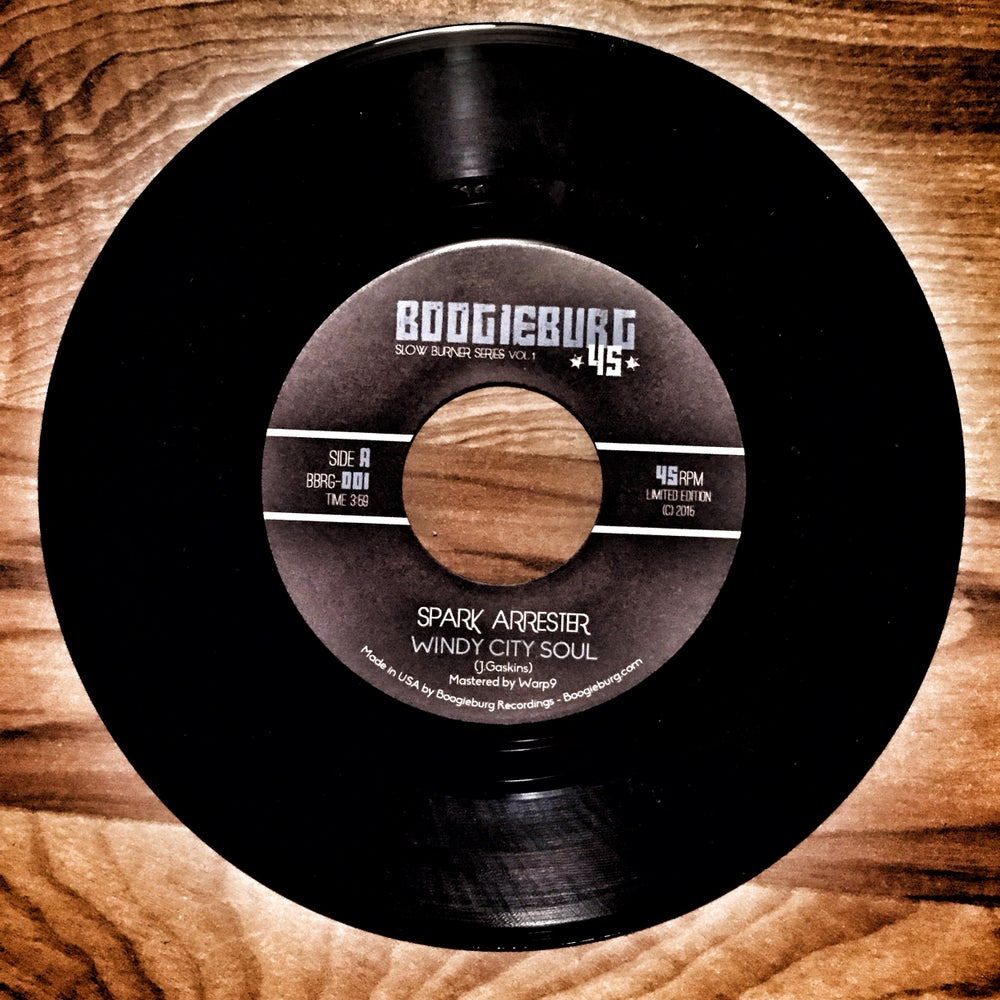 "Spark Arrester - Windy City Soul b/w Long Black Road (7"")"