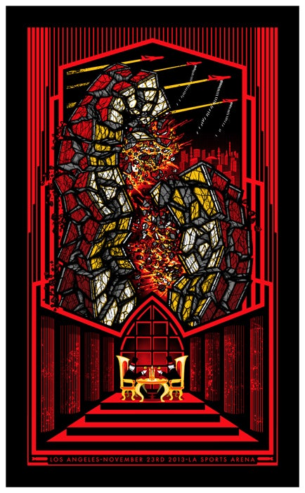 Image of Pearl Jam • '13 Los Angeles Screen Print