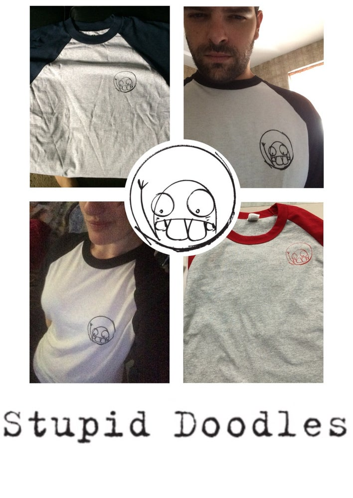Image of Stupid Doodles Logo T Shirt