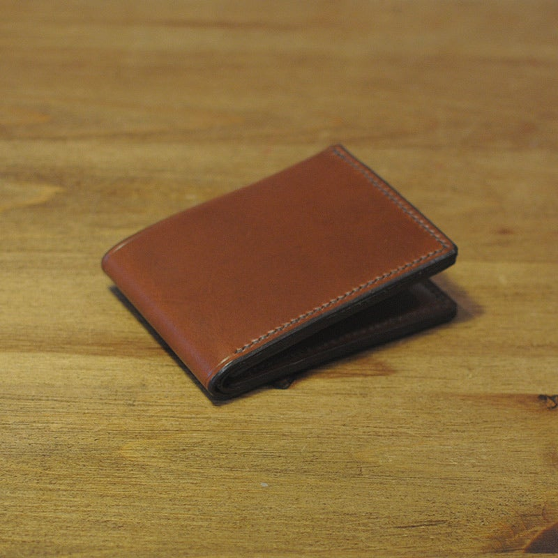 Image of Premium Coin Bi-Fold Wallet - Almond