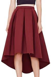 Image of RYAN Hi-Lo Scuba Skirt
