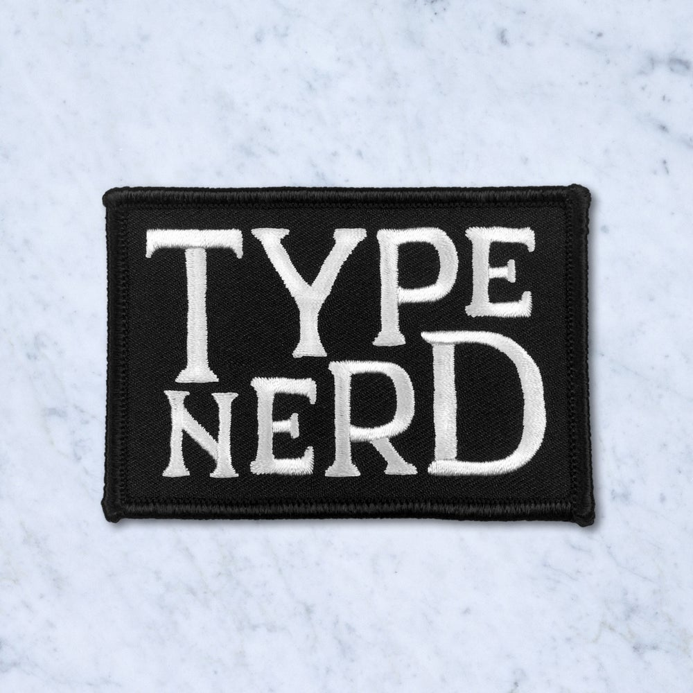 Image of Type Nerd Patch