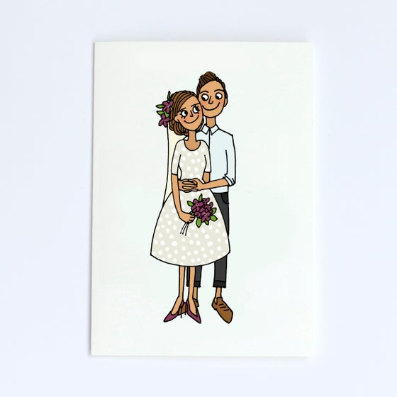 Image of Wedding Card