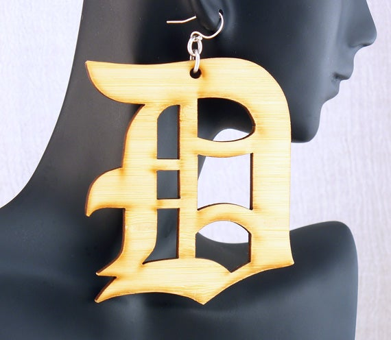 Image of Bamboo Detroit Earrings