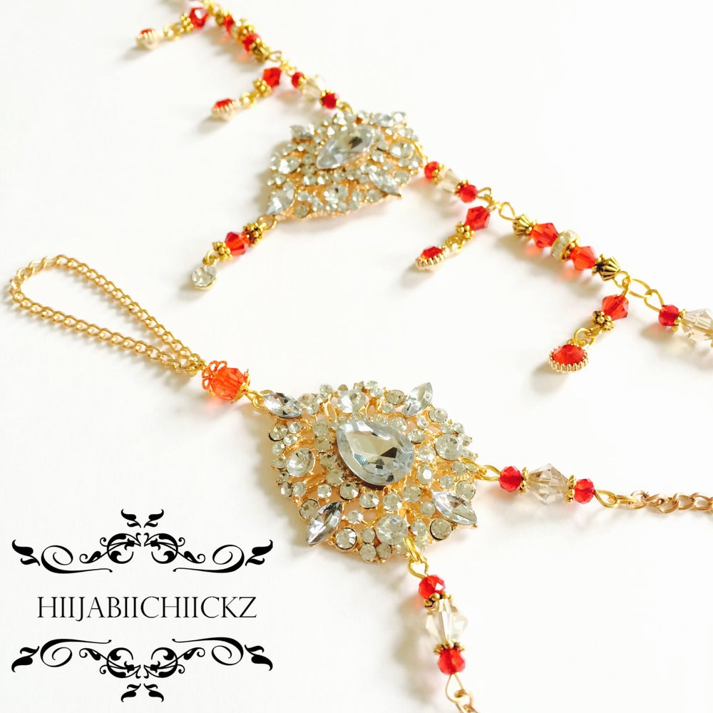 Image of | M I R A H |  Head and Hand Chain Set