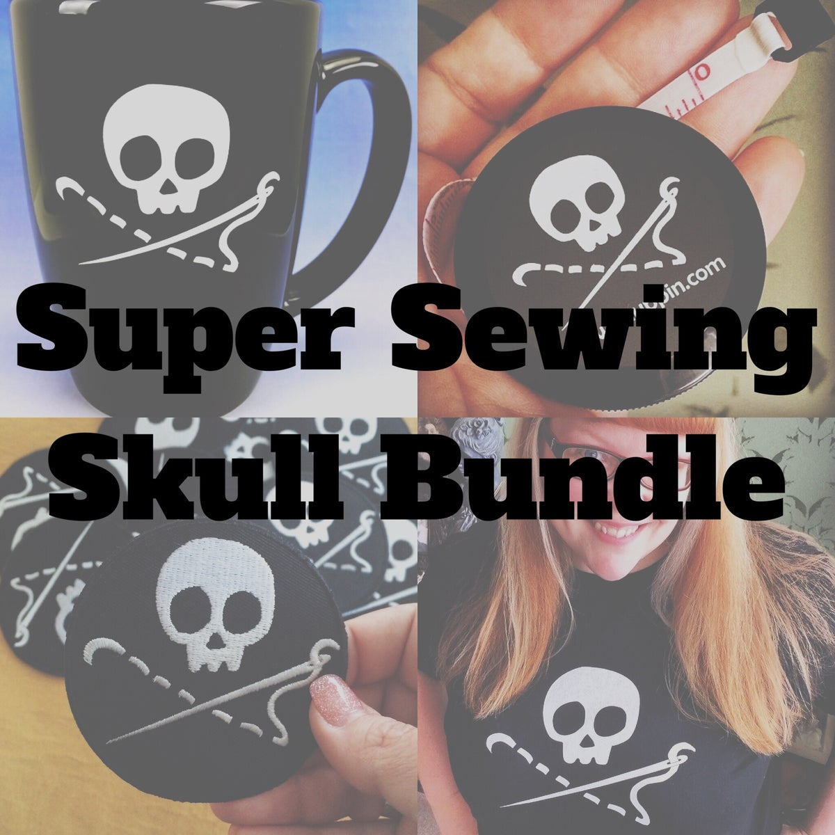 Image of Super Sewing Skull Bundle!