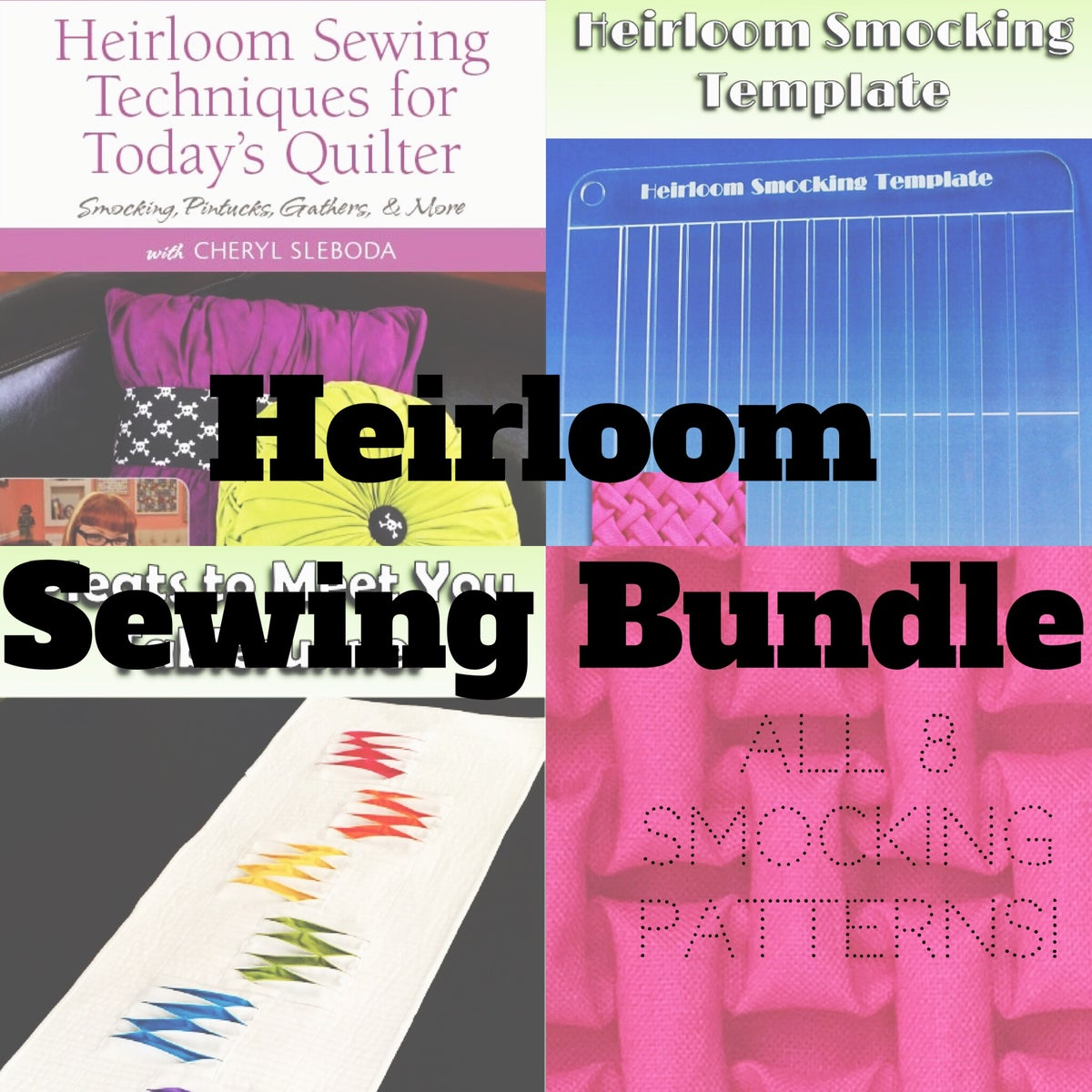 Image of Heirloom Sewing Bundle!