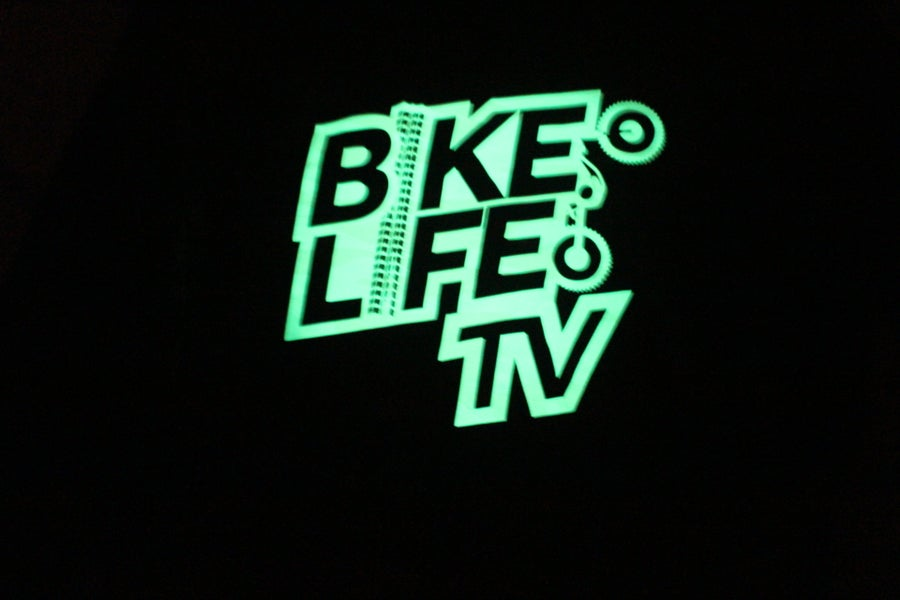 Image of BikeLife TV Kids Pullover Hoodie (Glow In The Dark)