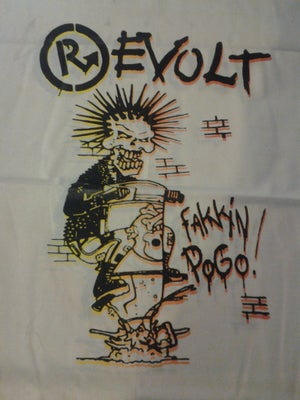Image of Revolt 40oz Pogo bondage shirt